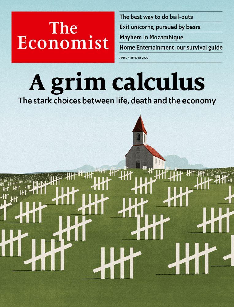 De meest recente editie van 4 april 2020. Beeld The Economist