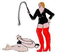 Sophia (45) is getrouwd met Hugo (70), maar heeft een 'vaste slaaf'