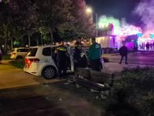 Ook politiehonden zijn aanwezig op de kermis in Nijkerk: ongeregeldheden duren maar voort