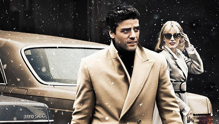 Abel Morales en Jessica Chastain in A most violent year. Beeld .