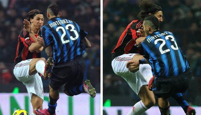 Novembre 2010. Le Milan AC de Zlatan Ibrahimovic affronte l'Inter de Marco Materazzi. Le Suédois peut enfin prendre sa revanche.