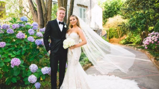 Kevin De Bruyne en zijn Michèle stappen in het huwelijksbootje in Italië