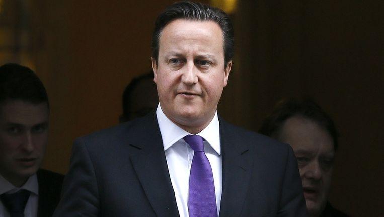 Geen penny zien de afgevaardigden in Westminster over het hoofd. Zelfs premier David Cameron niet. Beeld AP