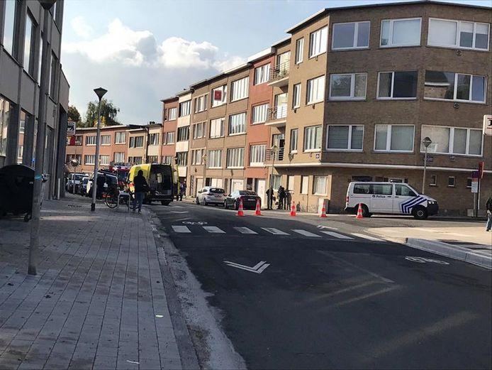 Dodelijk ongeval in de Heembeeksestraat.
