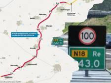 Provincie gaat onderzoek naar verbreding N18 niet betalen: 'Enorme tegenvaller'