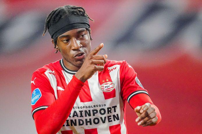 Noni Madueke heeft dit seizoen al acht keer gescoord en zes assists gegeven.