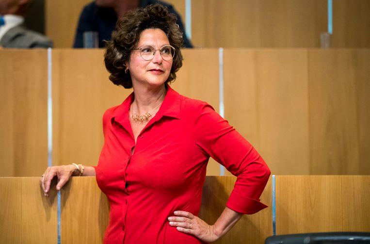 Volgens wethouder Marieke van Doorninck (Klimaat) komt het miljardentekort niet als een verrassing. Beeld Jerry Lampen/ANP