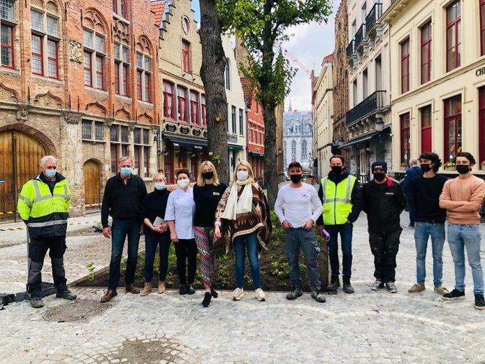 De werken in de Sint-Amandsstraat in Brugge zijn klaar.