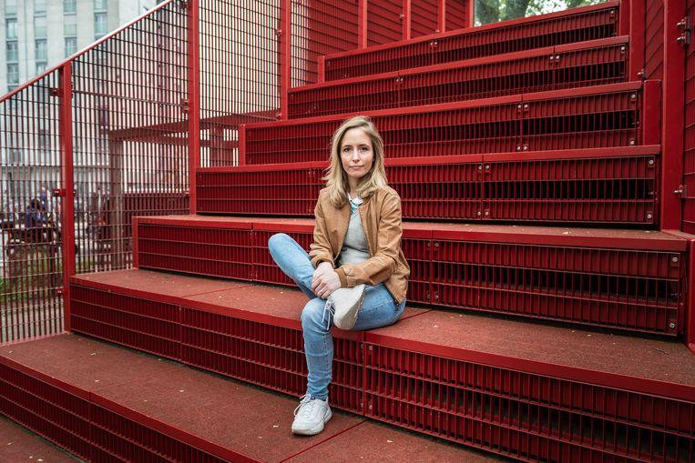 De Nederlandse ondernemer Eline Leijten zette het project op touw. Beeld Simon Lenskens