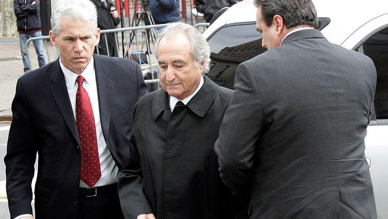 Bernard Madoff verdween in 2009 voor 150 jaar achter de tralies. Beeld REUTERS