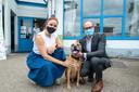 Natalia en Ben Weyts lanceerden 'Check je chip' bij de Dierenebescherming Mechelen