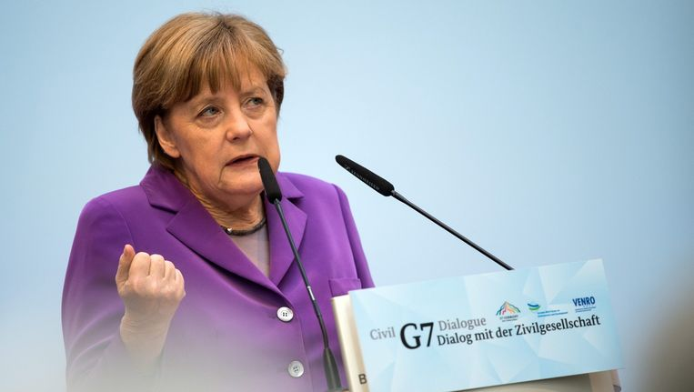 Bondskanselier Merkel. Beeld epa