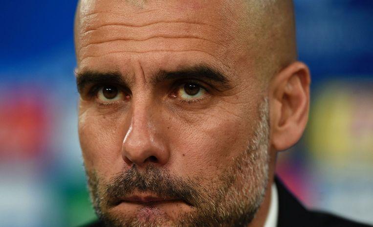 Pep Guardiola. Beeld afp