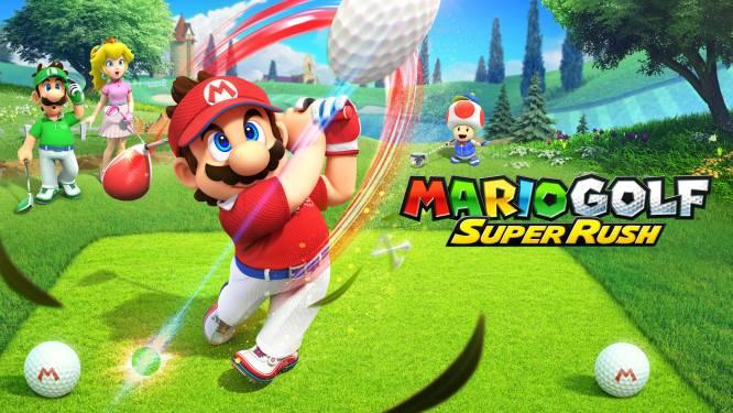 Een sprintje trekken op een golfbaan? Mario Golf: Super Rush is de meest hectische golfgame ooit