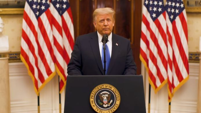 Donald Trump s'est adressé aux Américains pour la dernière fois.