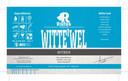 Witte'Wel. 5,5% Sprankelend en fris witbier van tarwe, hop, serep, gember en Brabants water.