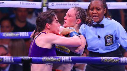 """Dan toch rematch Persoon - Taylor? """"Jaja, maar niet meteen. Katie moet eerst wereldtitel pakken in andere gewichtsklasse"""""""