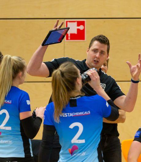 Coach Eric Meijer stopt energie in Regio Zwolle Volleybal