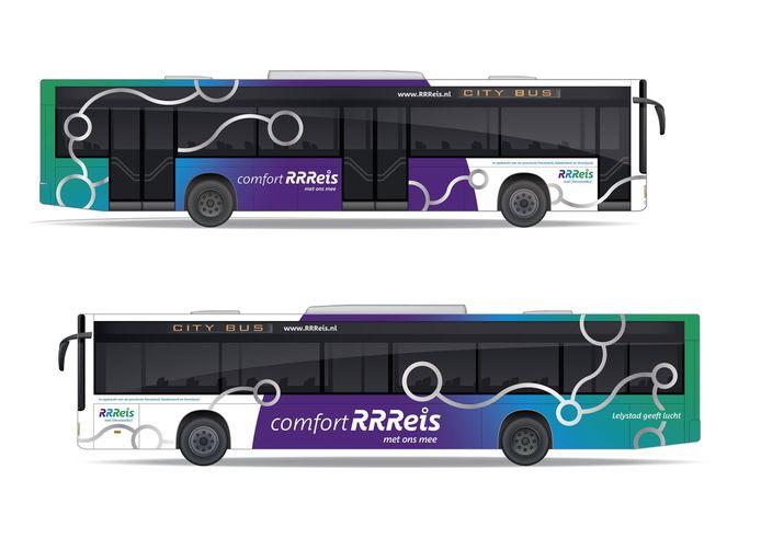 Zo gaan de nieuwe, volledig elektrische RRReis bussen van Keolis eruit zien vanaf 2020.
