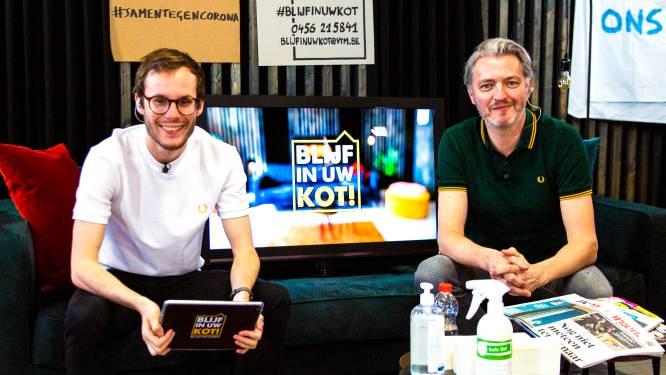 Staf Coppens maakt musical met z'n gezin en Kürt Rogiers schrijft gedicht voor jarige fan in 'Blijf in uw kot!'