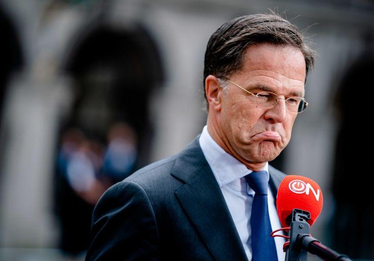 Mark Rutte. Beeld ANP