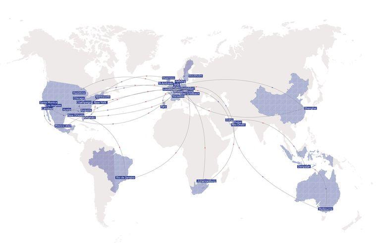 Reisbureau Thomas Pieters: 210.608 kilometer, of vijf keer de wereld rond, in één jaar. Beeld DM