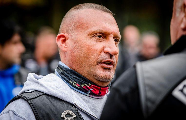 Klaas Otto, ex-voorman van motorclub No Surrender. Beeld anp