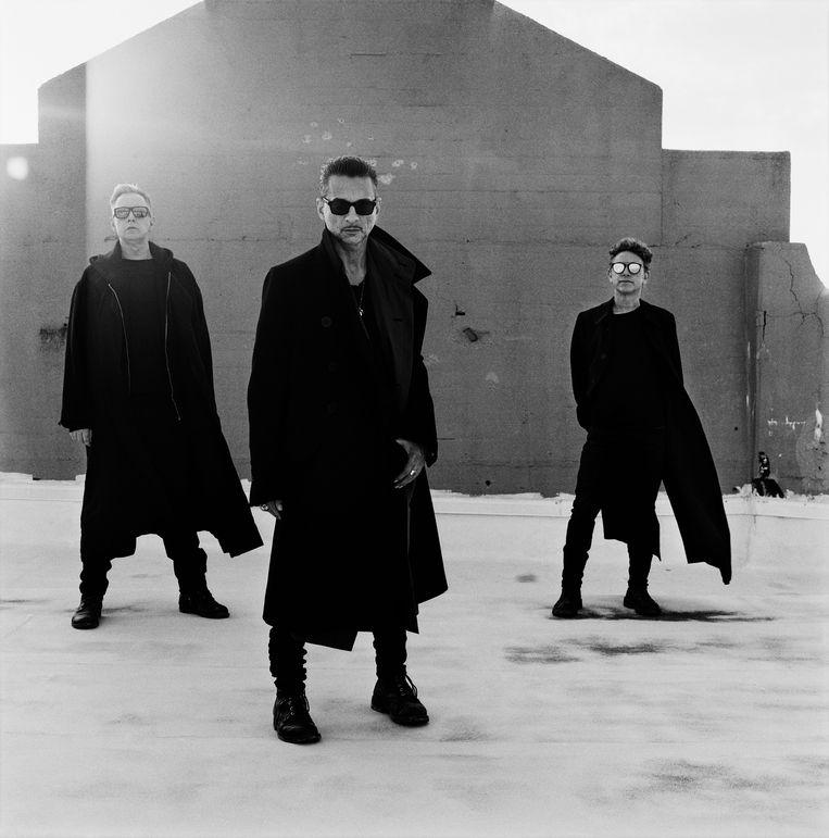Depeche Mode, Williamsburg, 2016. Beeld Anton Corbijn