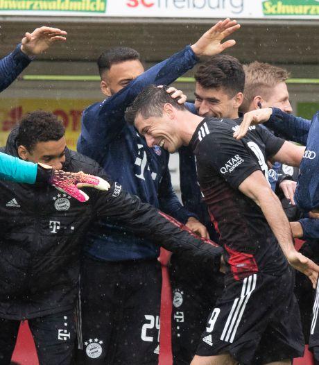 Lewandowski evenaart prachtrecord, goal Huntelaar goud waard voor Weghorst