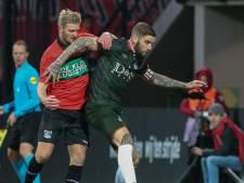 NEC mist middenvelder Mart Dijkstra tegen RKC door schorsing