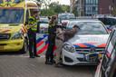 De man die in een Alphense flat zijn vrouw en dochter neerstak is aangehouden (2019).