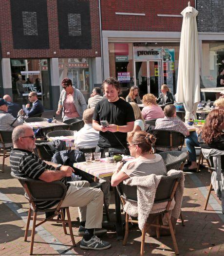 Terrassen op hele eiland ruimer, in Spijkenisse ook langer open