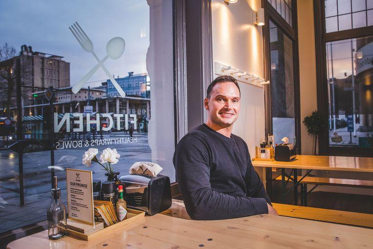 Koen Mortier (37) begon in augustus 2018 met zijn Fitchen-zaak aan Gent-Zuid.