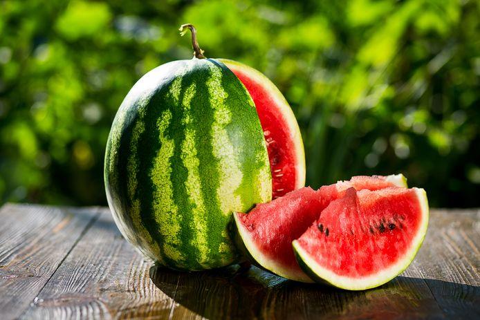 Watermeloen: nog hard of al lekker?