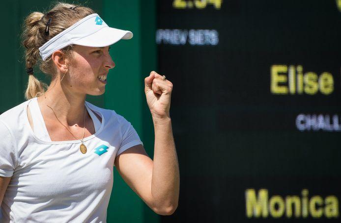 Elise Mertens.
