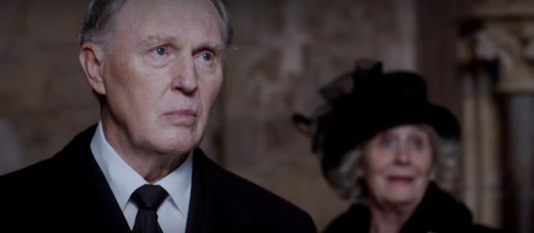 Een beeld uit 'King Charles III'. Beeld YouTube/BBC