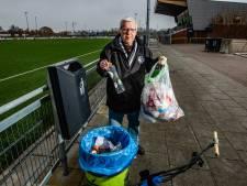 Sportclubs willen wel afval scheiden, maar doen het niet
