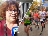 Honderden marathonlopers plasten in de tuin van Barbara