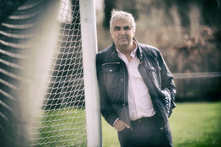 Hans Douw, 'stadionspringer' des vaderlands. Beeld