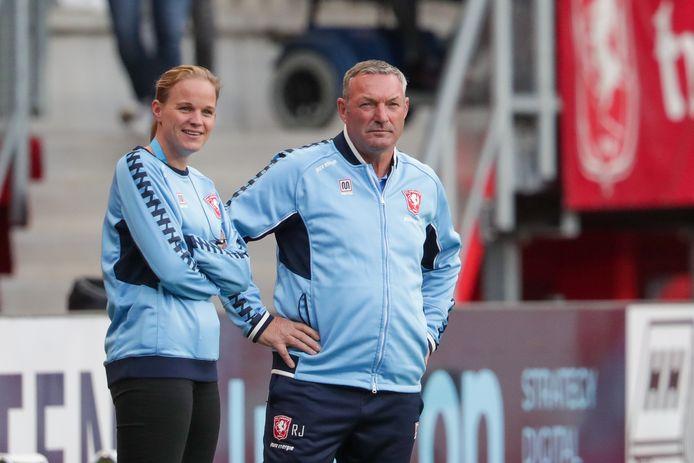 Ron Jans, de nieuwe coach van FC Twente.