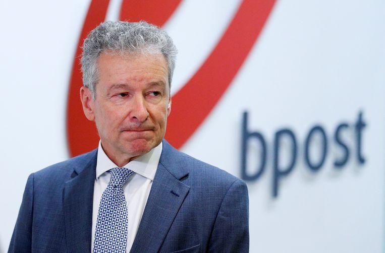 Koen Van Gerven, CEO van bpost Beeld REUTERS