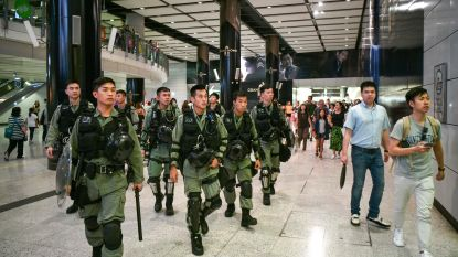 Nacht van geweld in Hongkong, manifestanten willen vandaag opnieuw luchthaven bezetten
