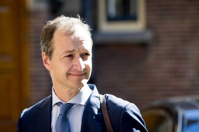 Minister Eric Wiebes van Economische Zaken.