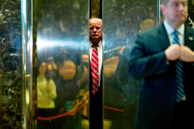 Al sinds de jaren negentig doen Donald Trump en Deutsche Bank zaken. Trump – wanbetaler bij andere banken – had een kredietverlener nodig, Deutsche zocht naar een doorbraak op de Amerikaanse markt. Beeld AFP
