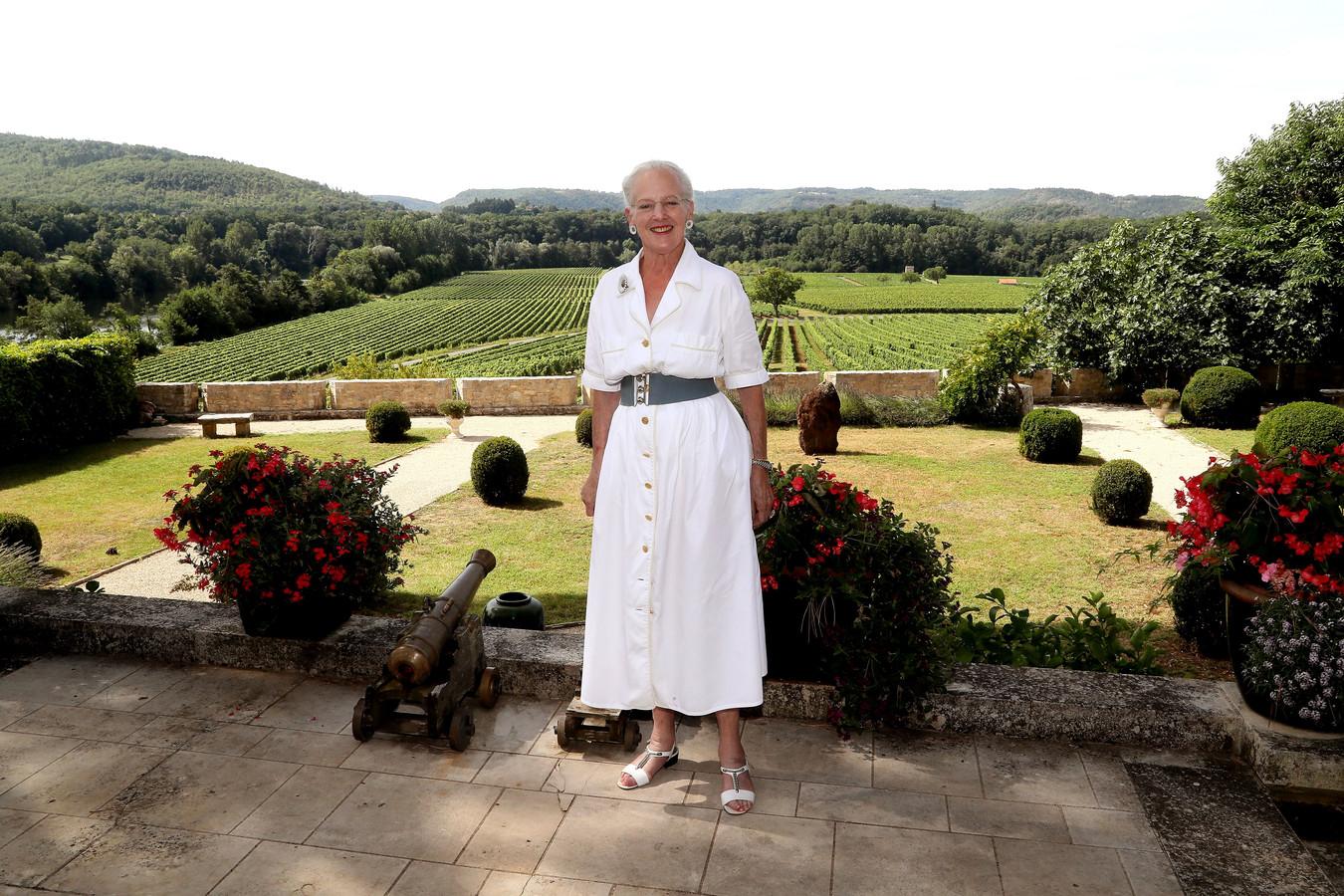 """Koningin Margrethe van Denemarken heeft van zich laten horen met een """"warme lentegroet""""."""