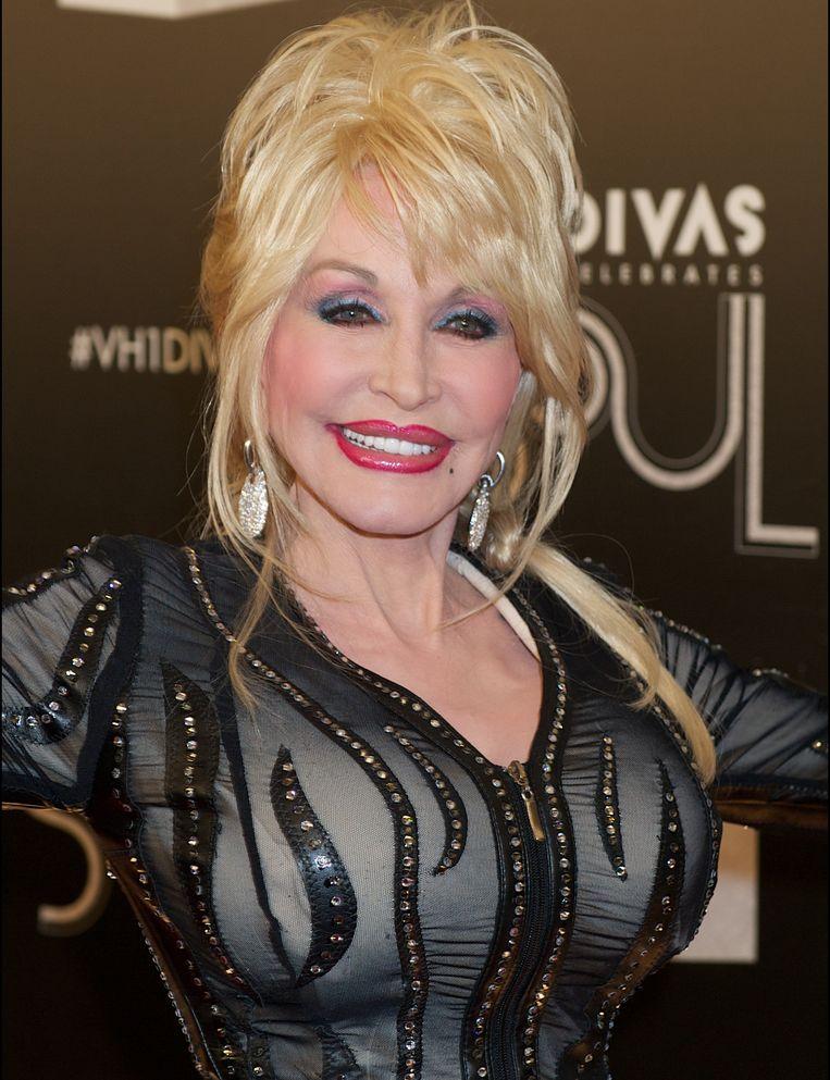 Op 2: Dolly Parton. Beeld Photo News