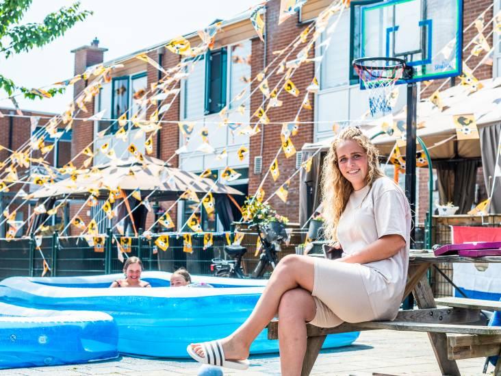 Kimberley (17) is gek op voetbal: 'Natuurlijk ben ik voor het Nederlands elftal, en vooral voor de meiden'