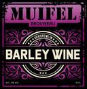 Muifel Barley Wine. 12% Krachtig-moutige, smaakvolle gerstewijn. Vleugje citrus door Amerikaanse hoppen.