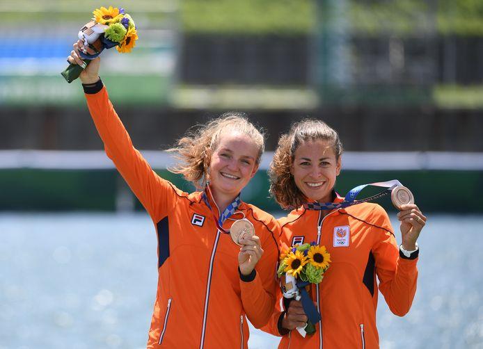 Brons: Marieke Keijser en Ilse Paulis (roeien, lichtgewicht dubbeltwee, vrouwen)