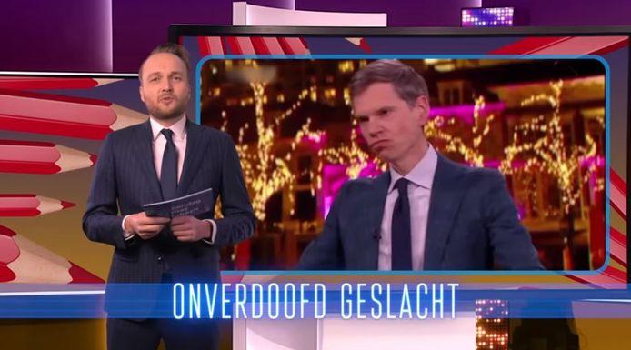 Arjen Lubach en zijn Nieuwsuur-rap.
